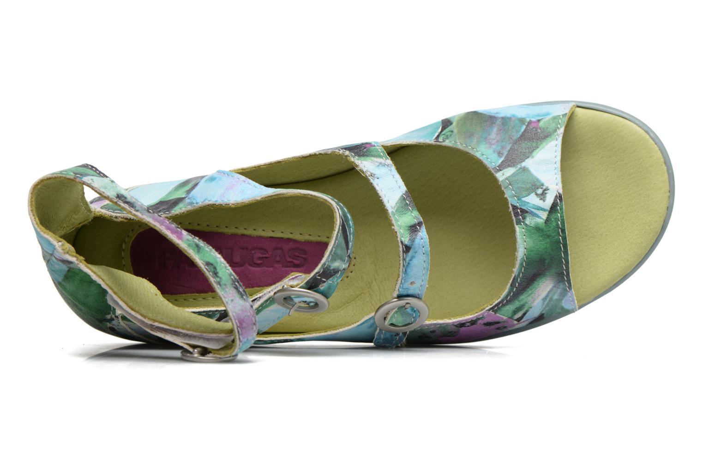 Sandales et nu-pieds Pataugas MUSE/MURRAY_1 Multicolore vue gauche