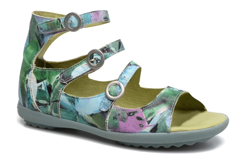 Sandales et nu-pieds Pataugas MUSE/MURRAY_1 Multicolore vue détail/paire