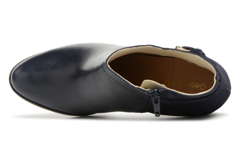 Bottines et boots Georgia Rose Lylia Bleu vue gauche