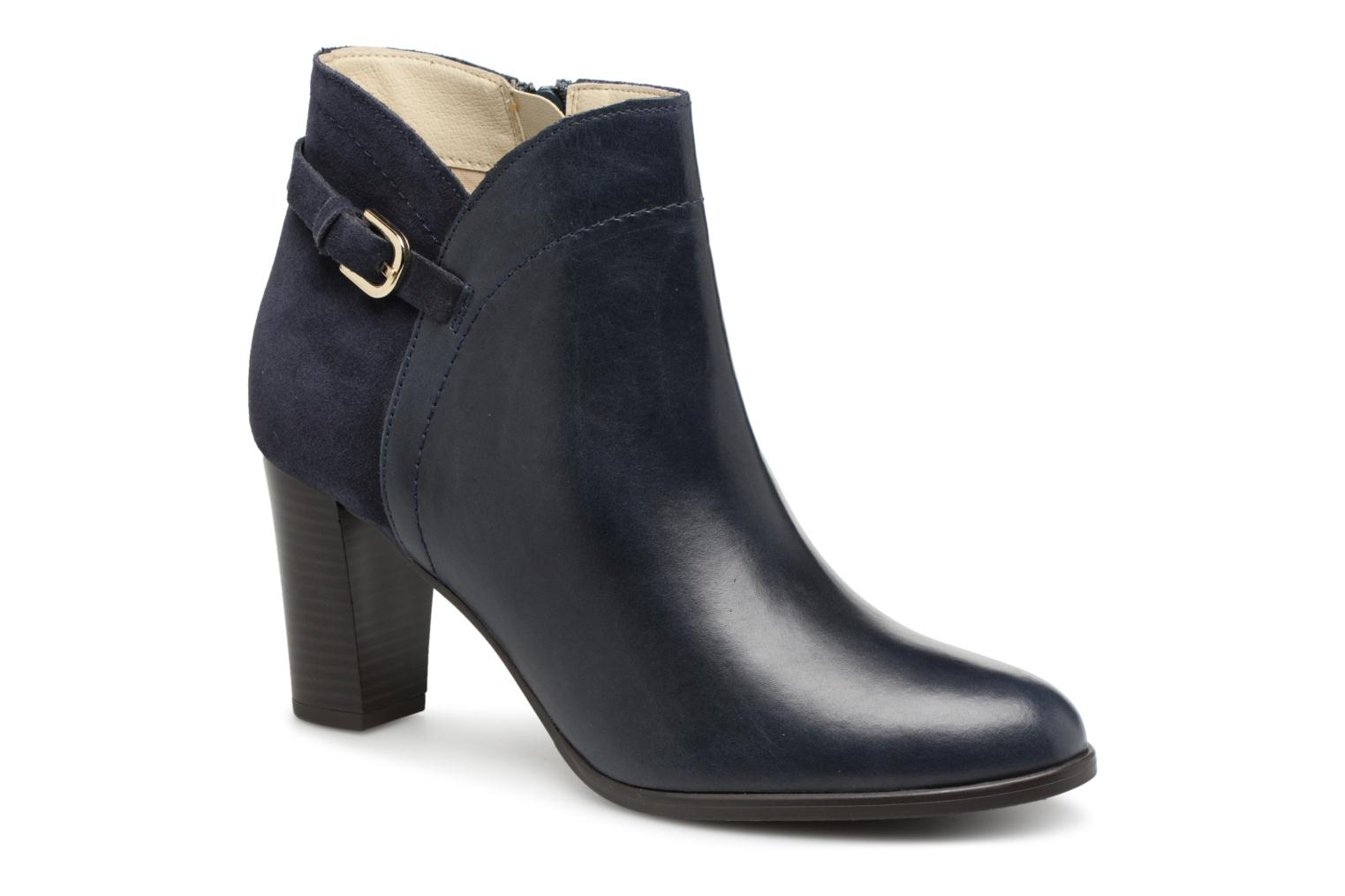 Ankle boots Georgia Rose Lylia Blue detailed view/ Pair view