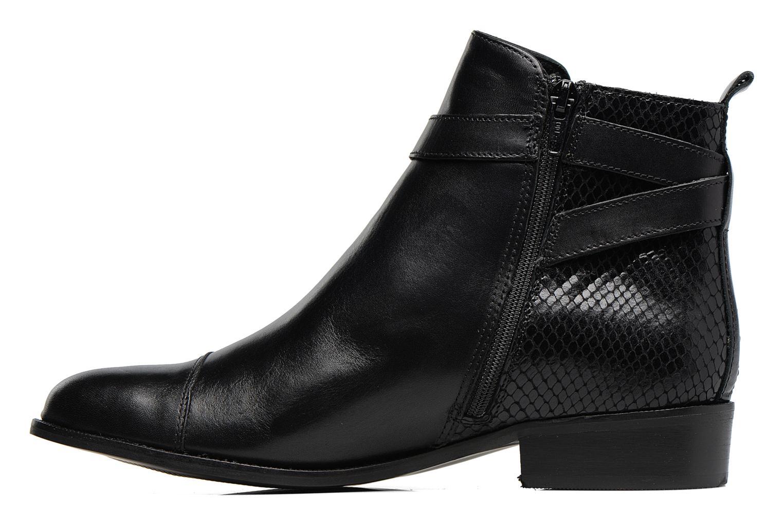 Ankle boots Georgia Rose Lavanda Black front view