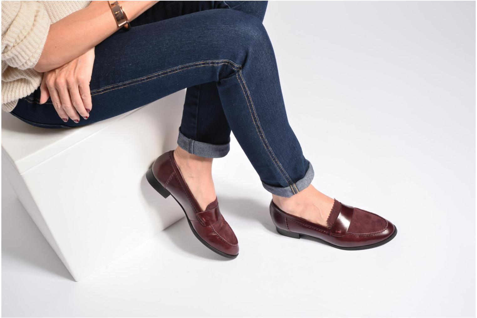Loafers Georgia Rose Lesly Black view from underneath / model view