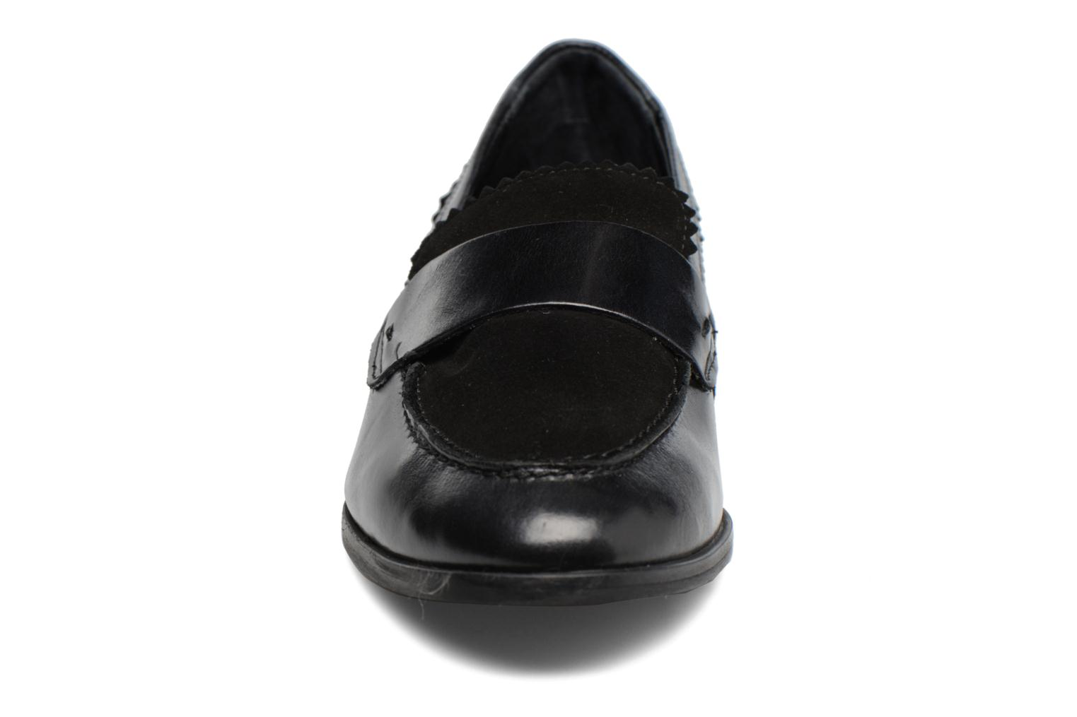 Loafers Georgia Rose Lesly Black model view