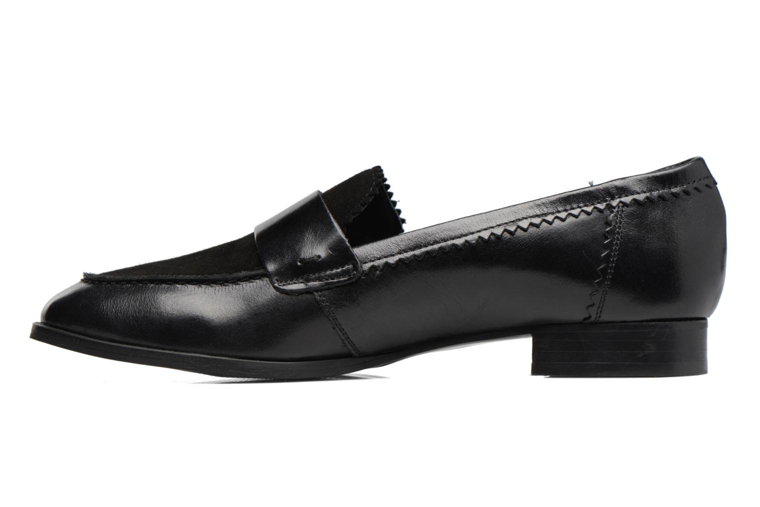 Loafers Georgia Rose Lesly Black front view