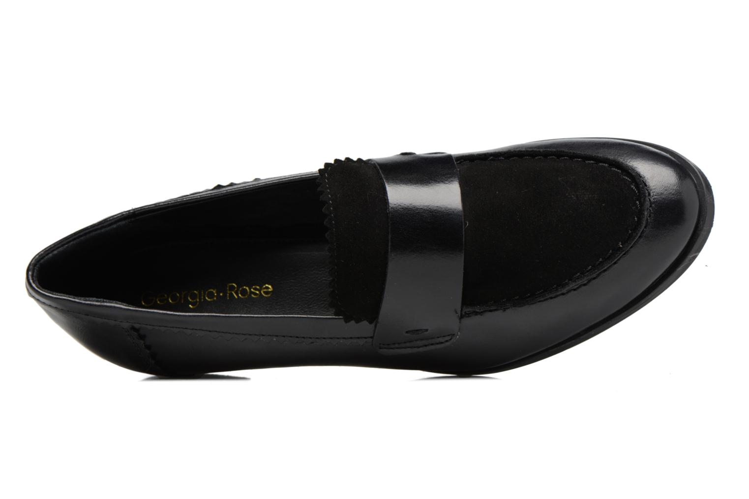 Loafers Georgia Rose Lesly Black view from the left