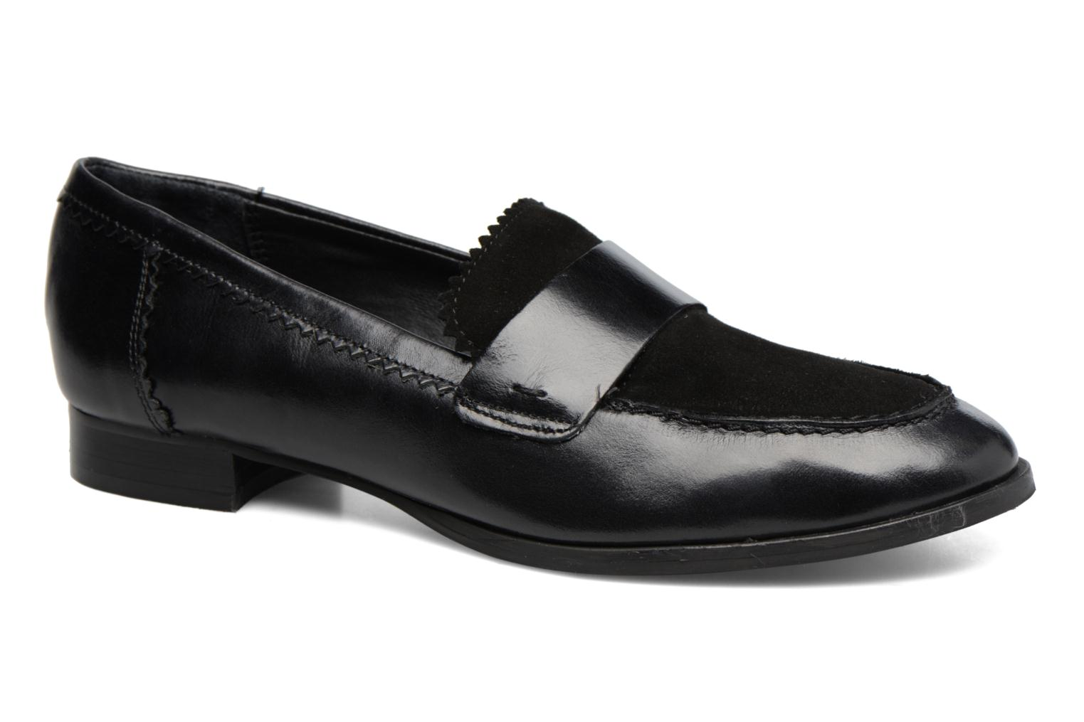 Loafers Georgia Rose Lesly Black detailed view/ Pair view