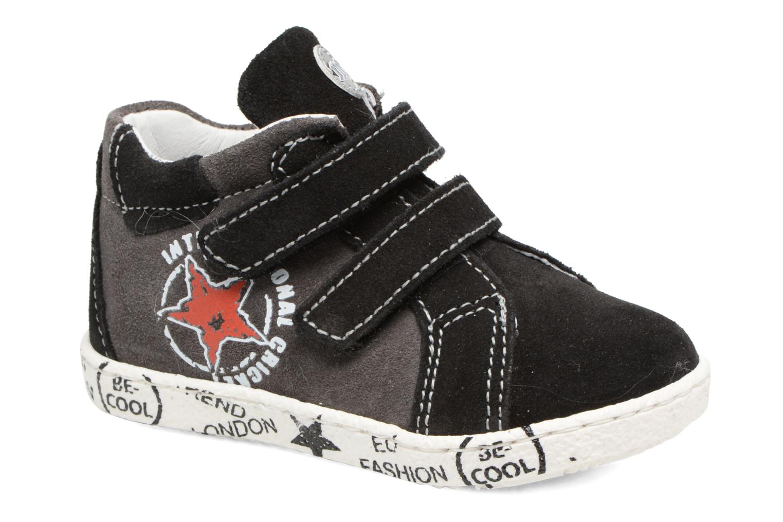 Sneakers Melania POLACCO VELCRI Grijs detail