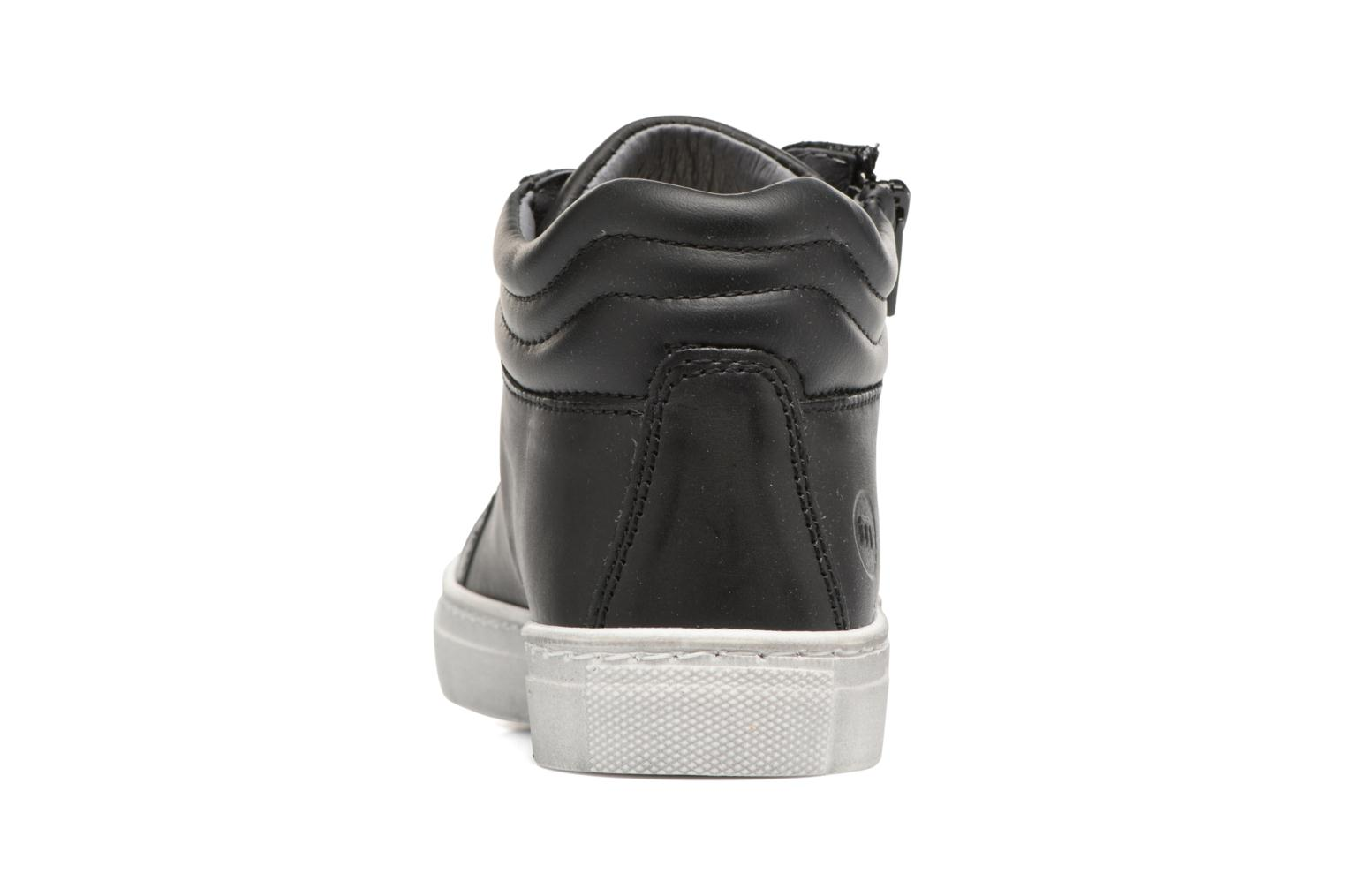 Trainers Melania POLACCO LACCI Black view from the right