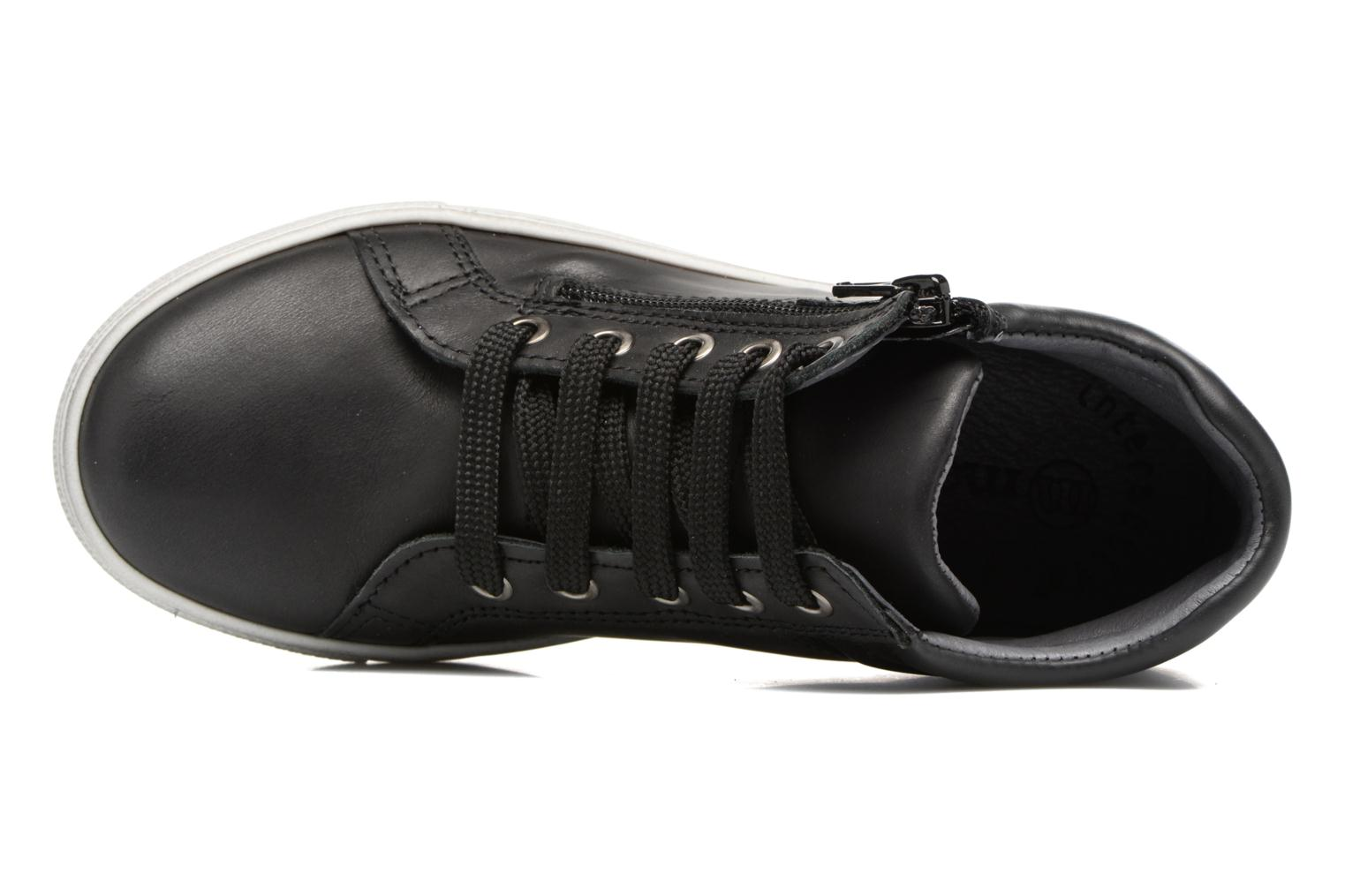 Trainers Melania POLACCO LACCI Black view from the left