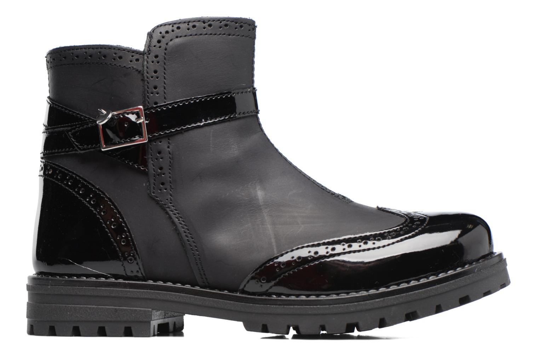 Støvler & gummistøvler Melania TRONCHETTO FIBBIA Sort se bagfra