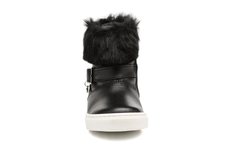 Bottes Melania STIVALE FIBBIA Noir vue portées chaussures