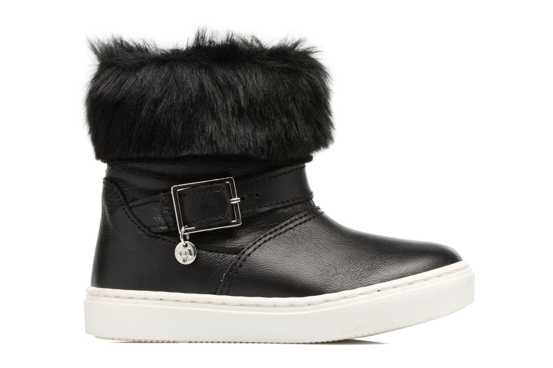 Boots & wellies Melania STIVALE FIBBIA Black back view