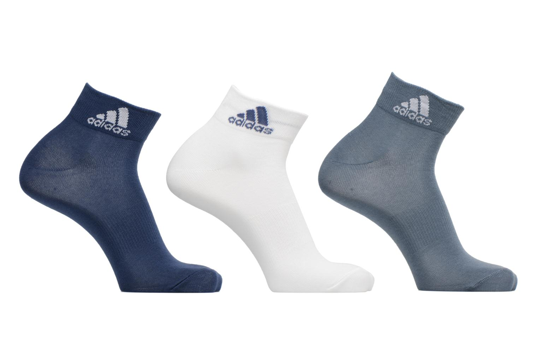 Sokken en panty's Adidas Performance PER ANKLE T 3PP Blauw detail
