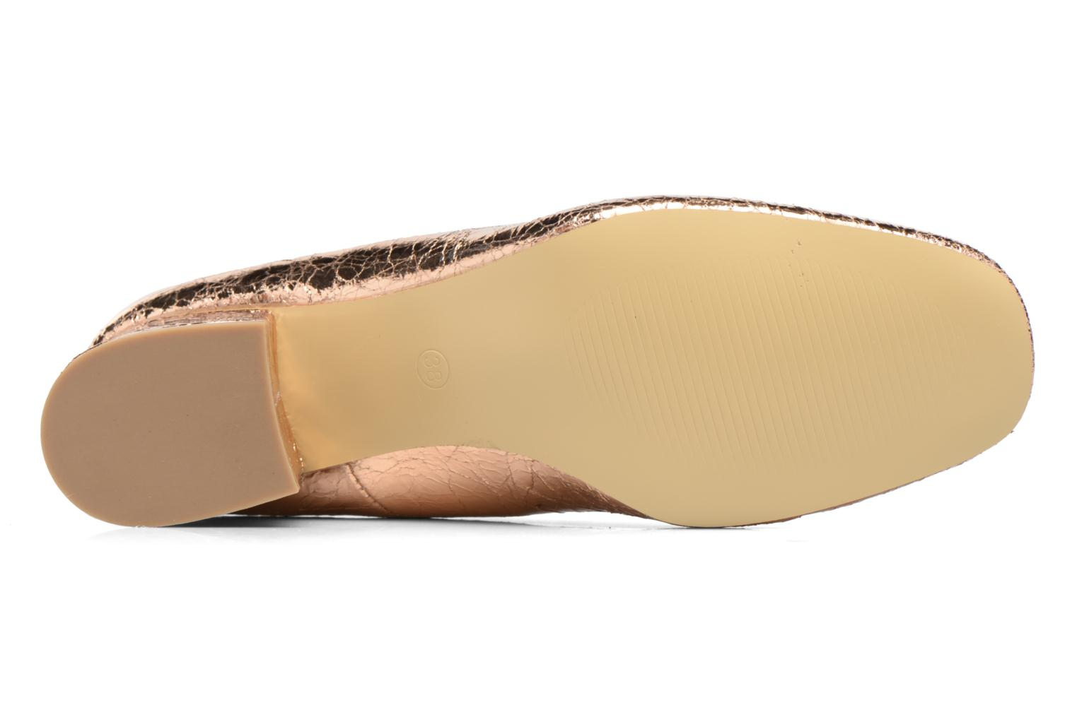 Ballet pumps I Love Shoes CAMILLA Bronze and Gold view from above