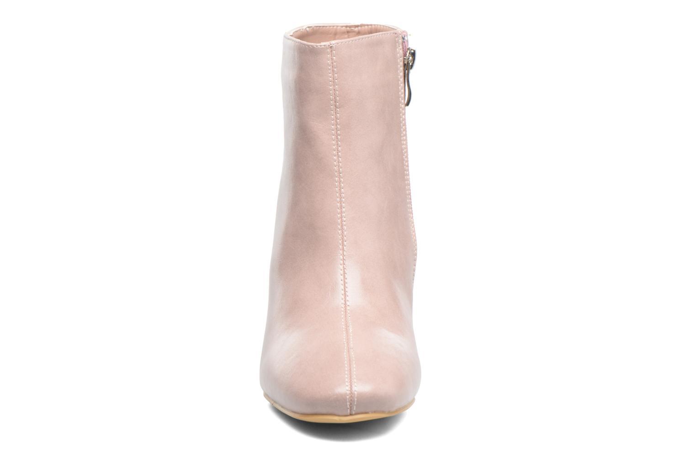 Stivaletti e tronchetti I Love Shoes CORINA Rosa modello indossato