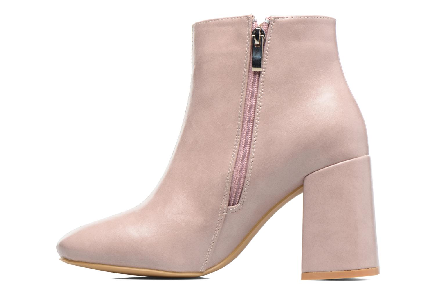 Ankle boots I Love Shoes CORINA Pink front view