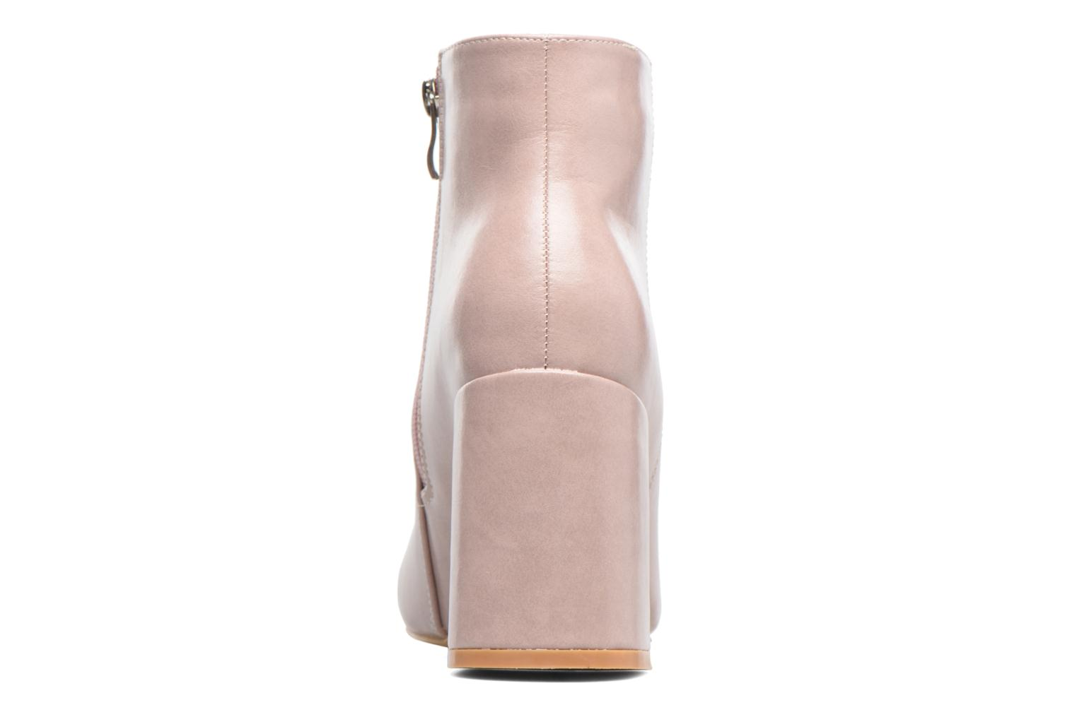 Ankle boots I Love Shoes CORINA Pink view from the right