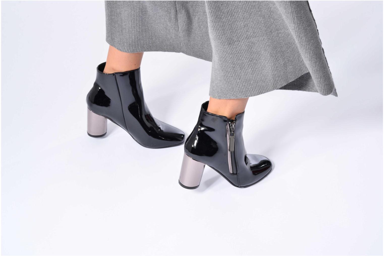 Bottines et boots I Love Shoes CRISTINA Or et bronze vue bas / vue portée sac