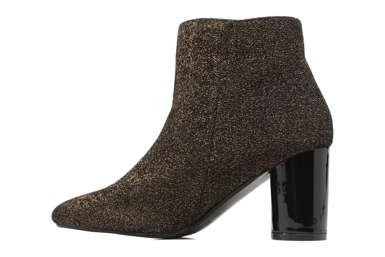 Bottines et boots I Love Shoes CRISTINA Or et bronze vue face