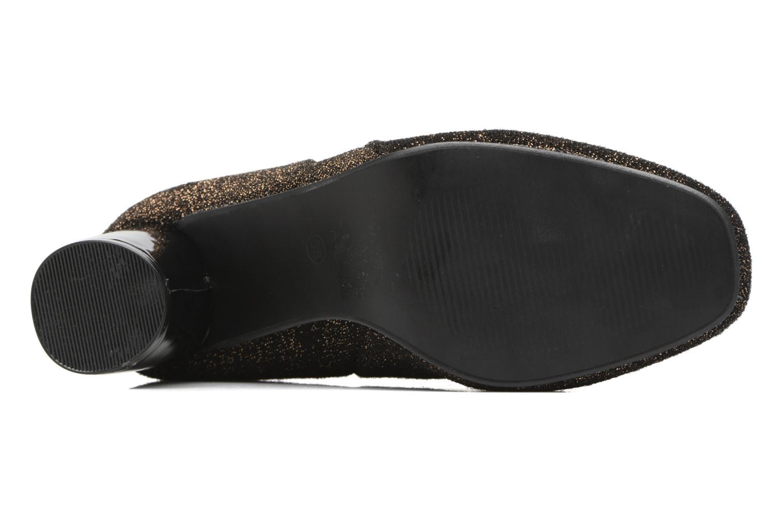 Bottines et boots I Love Shoes CRISTINA Or et bronze vue haut