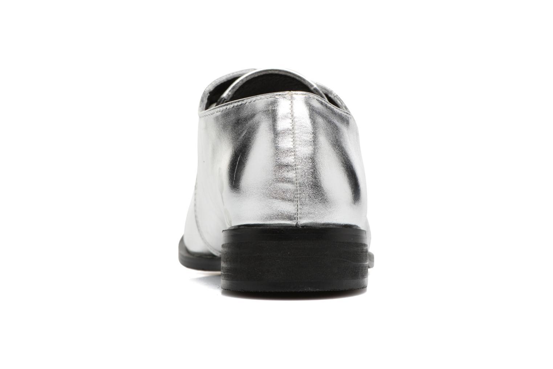 Chaussures à lacets I Love Shoes CLEMIA Argent vue droite