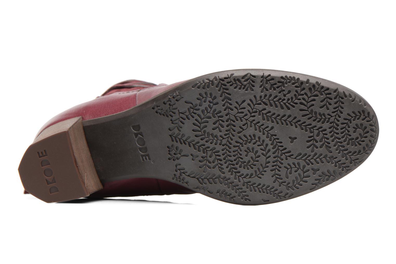 Bottines et boots Dkode Candy Violet vue haut
