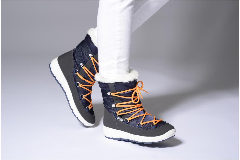 Sportschuhe SARENZA POP MOWFLAKE Bottes de neige  Snow boots grau ansicht von unten / tasche getragen