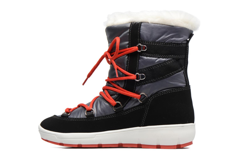 Chaussures de sport SARENZA POP MOWFLAKE Bottes de neige  Snow boots Gris vue face