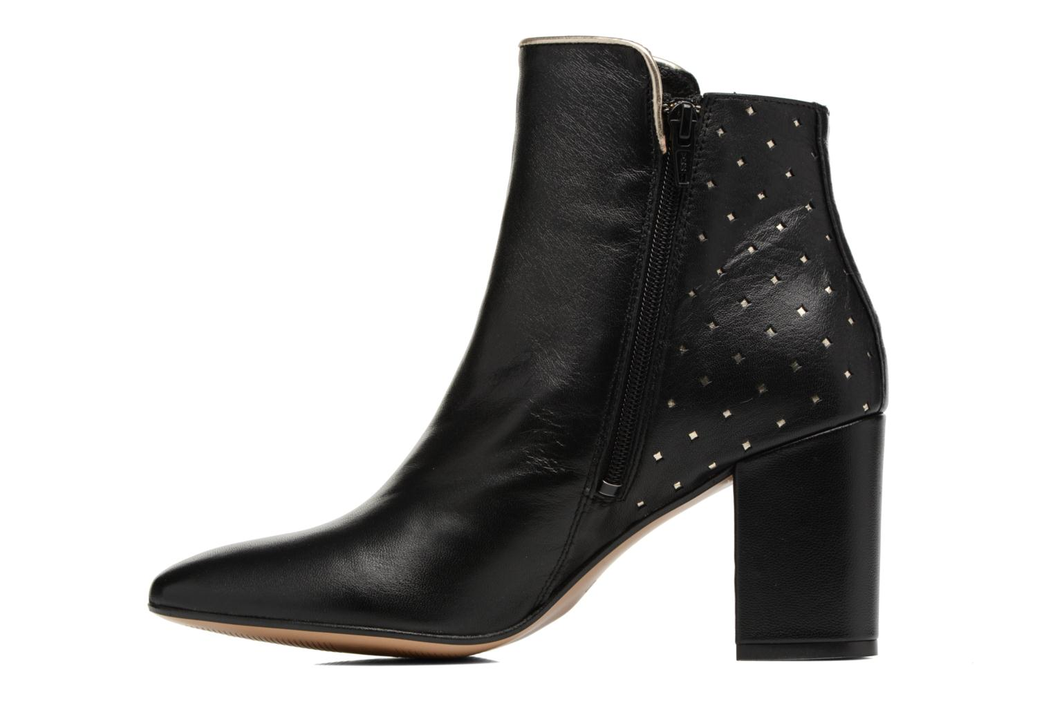 Ankle boots Mellow Yellow Charlyna Black front view