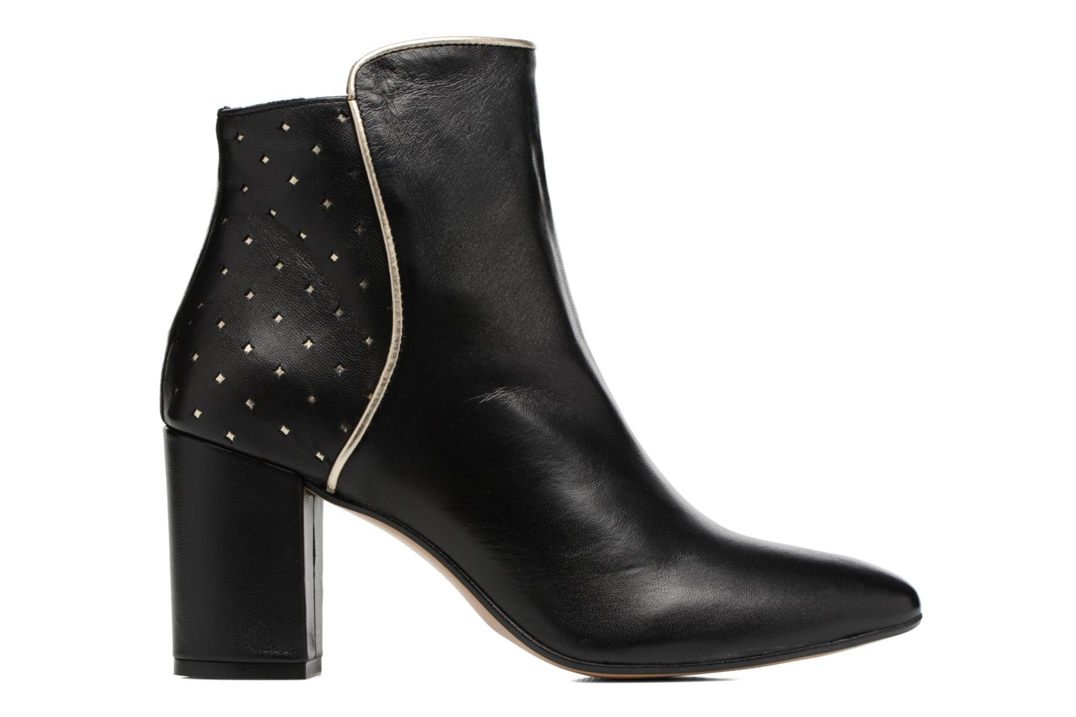 Ankle boots Mellow Yellow Charlyna Black back view