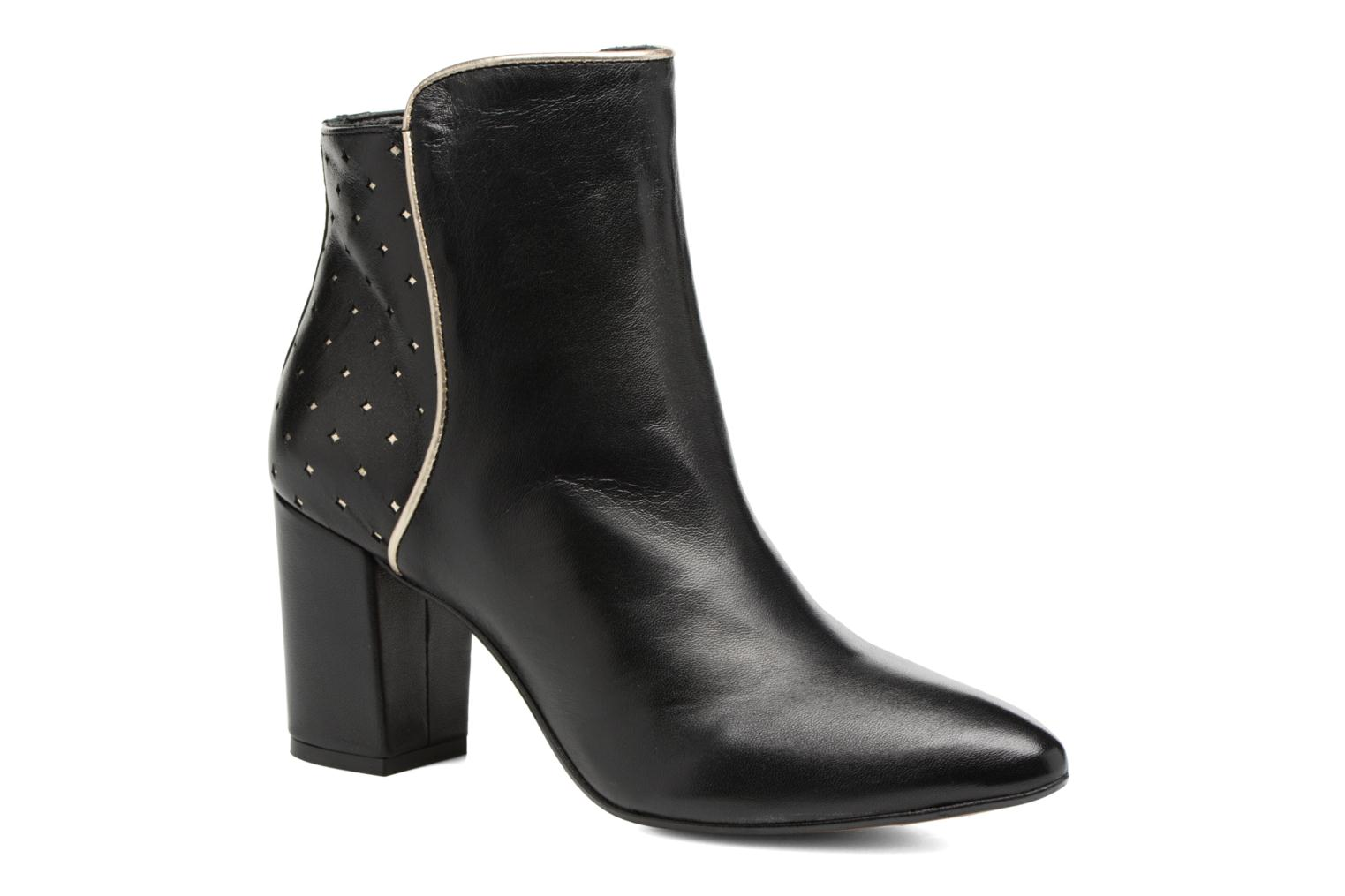 Ankle boots Mellow Yellow Charlyna Black detailed view/ Pair view