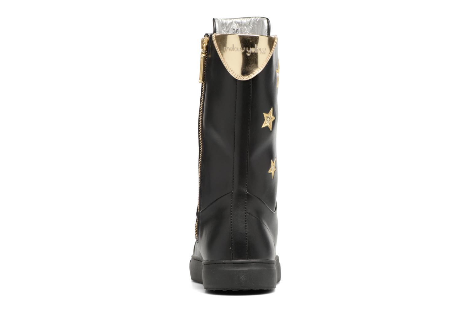 Boots & wellies Mellow Yellow Clabox Black view from the right