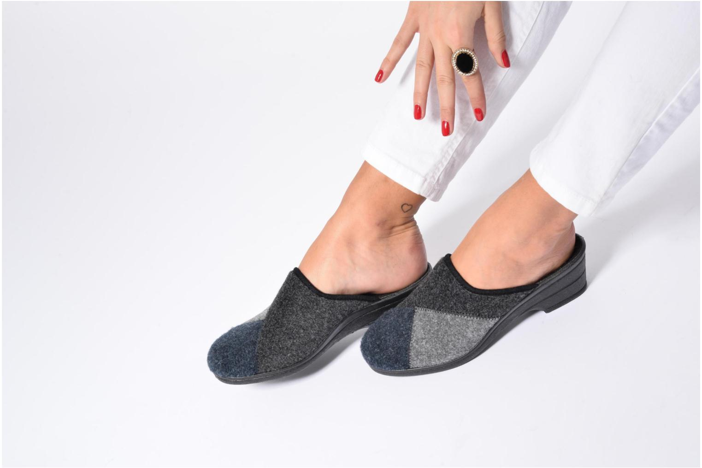 Pantofole Rondinaud Noisay Nero immagine dal basso