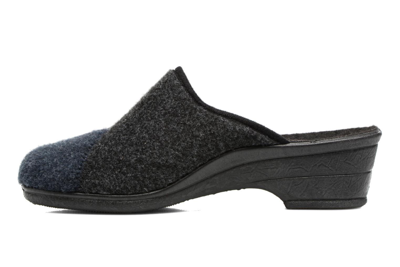 Pantofole Rondinaud Noisay Nero immagine frontale