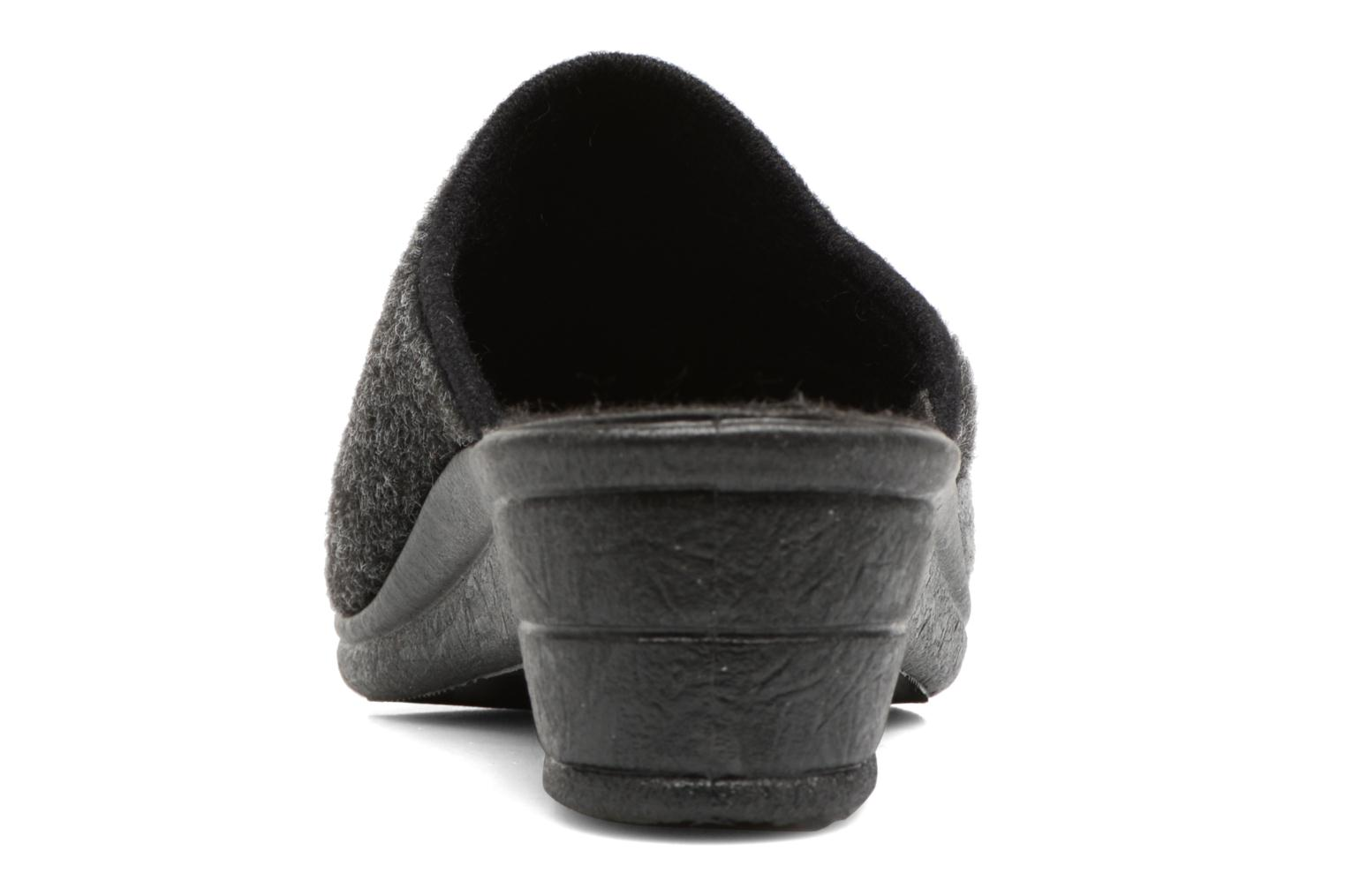 Chaussons Rondinaud Noisay Noir vue droite
