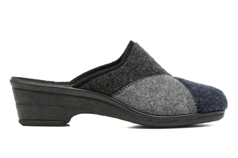 Pantofole Rondinaud Noisay Nero immagine posteriore
