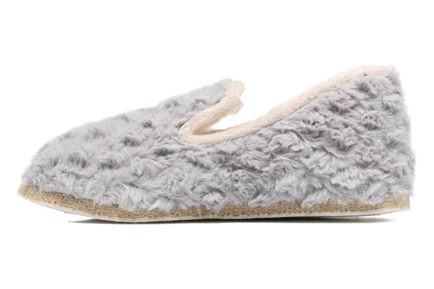 Chaussons Rondinaud Crouy Gris vue face