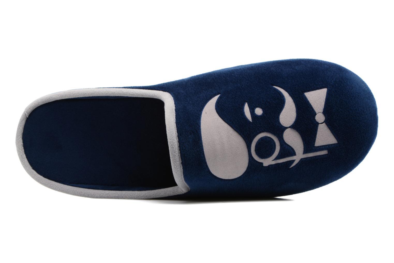 Chaussons Rondinaud Bayeux Bleu vue gauche