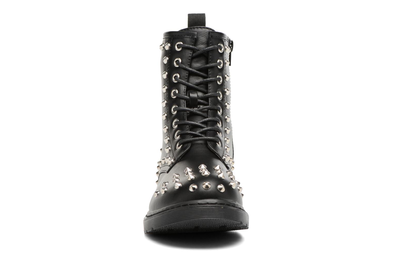 Bottines et boots Buffalo Choly Noir vue portées chaussures