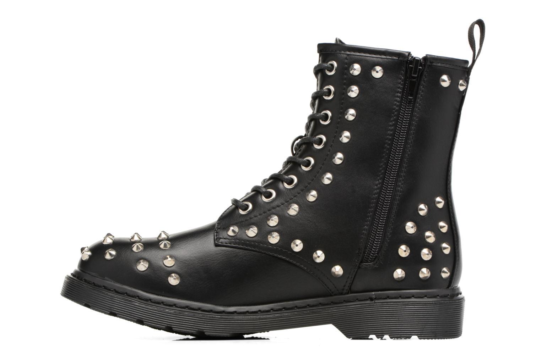 Bottines et boots Buffalo Choly Noir vue face