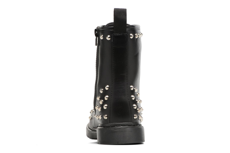 Bottines et boots Buffalo Choly Noir vue droite