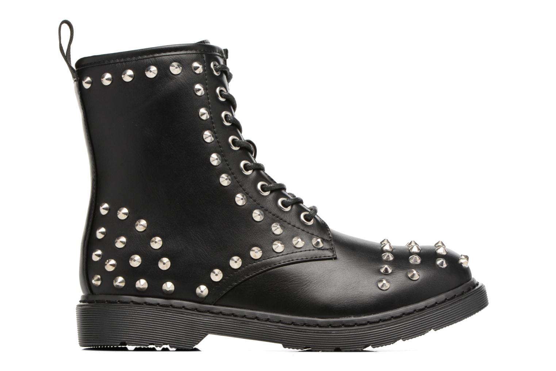 Bottines et boots Buffalo Choly Noir vue derrière