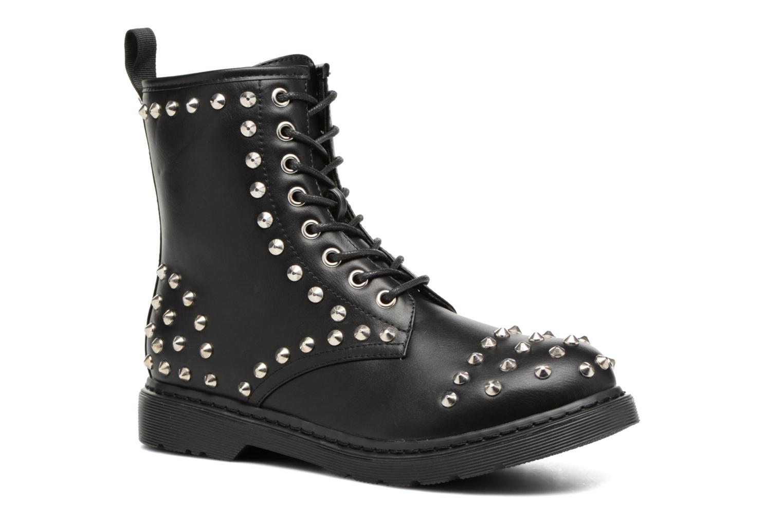 Bottines et boots Buffalo Choly Noir vue détail/paire