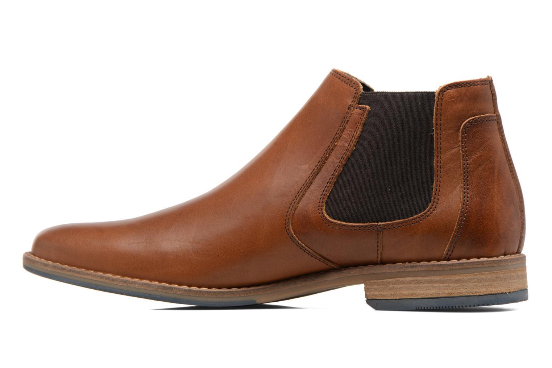 Stiefeletten & Boots Bullboxer NEWJames braun ansicht von vorne