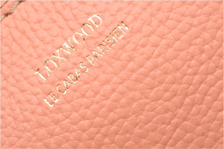 Petite Maroquinerie Loxwood Pochette Floppy Mousqueton Rose vue gauche