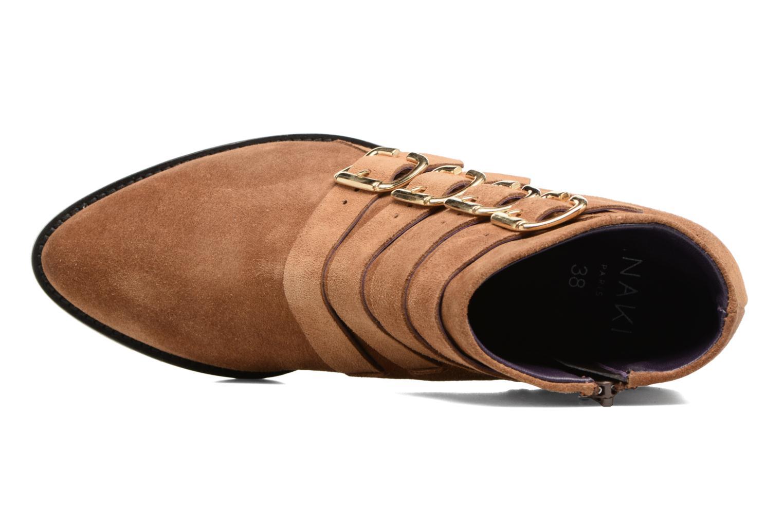 Bottines et boots Anaki Sofia Marron vue gauche