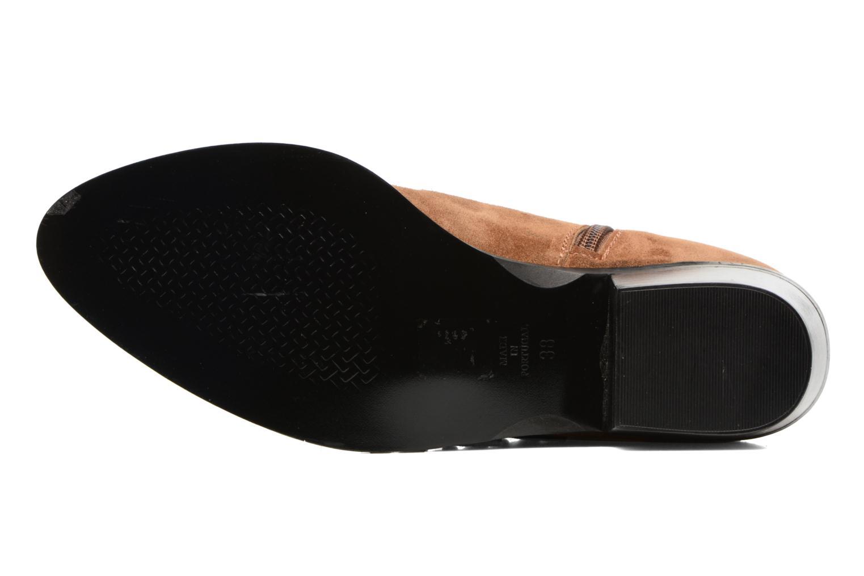 Bottines et boots Anaki Sofia Marron vue haut
