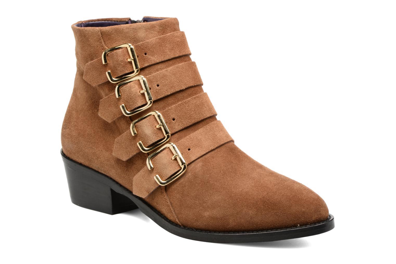 Bottines et boots Anaki Sofia Marron vue détail/paire