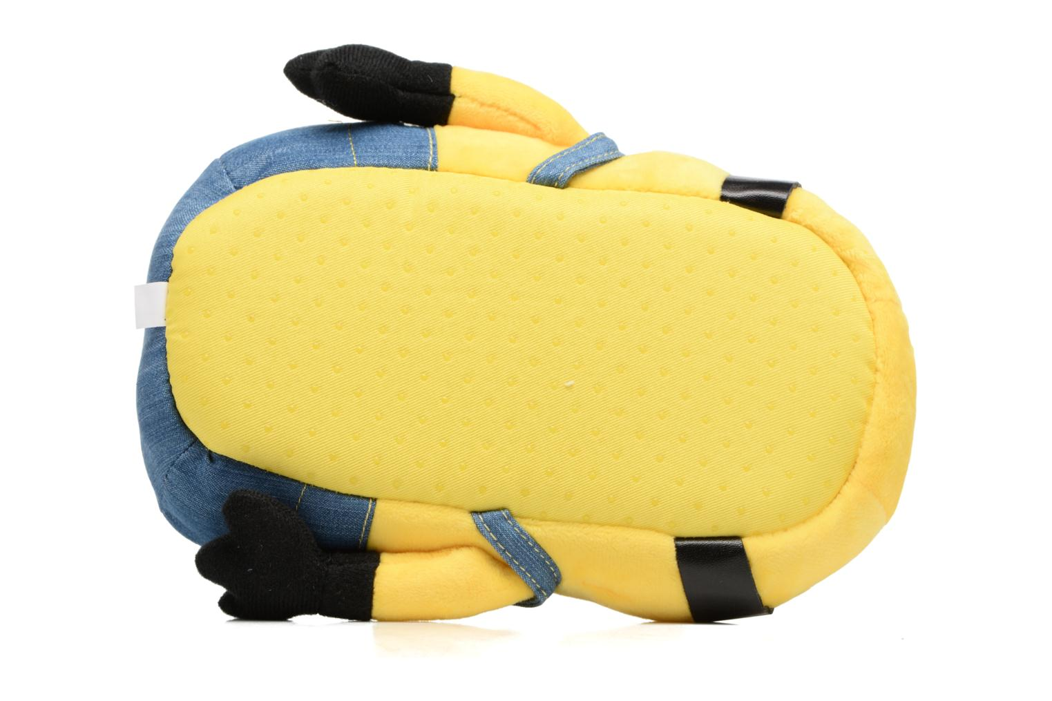 Slippers Minions Santiago Yellow view from above
