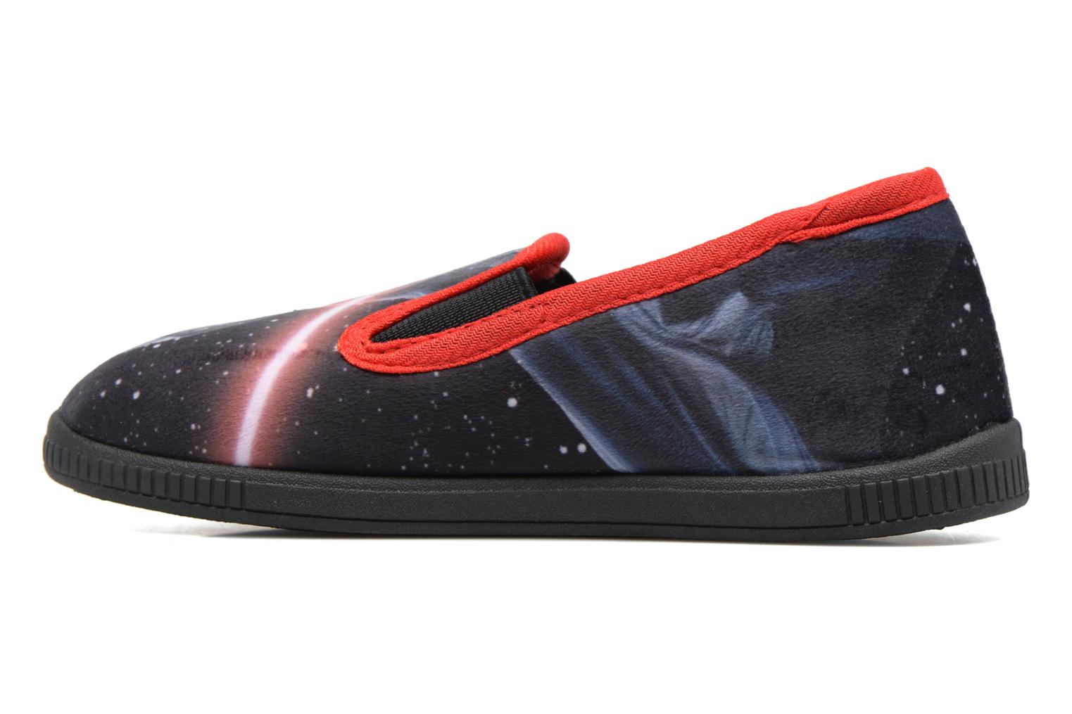Chaussons Star Wars Sauvage Rouge vue face